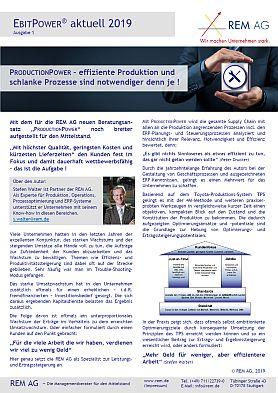REM AG_Newsletter_EP_01_2019